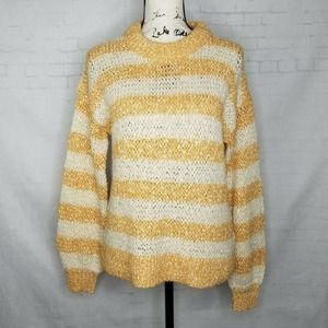 Madewell Striped Pullover Sweater Women Size XXS